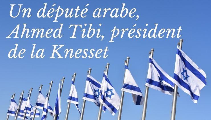 Un député arabe, Ahmed Tibi,